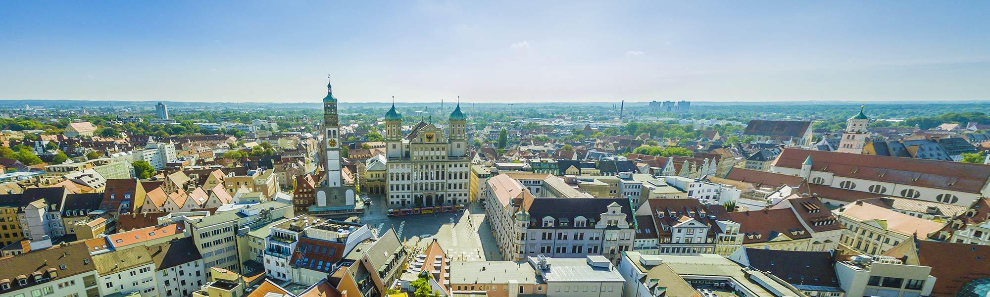 Schuhgeschäft nur zwei Minuten vom Rathausplatz Augsburg