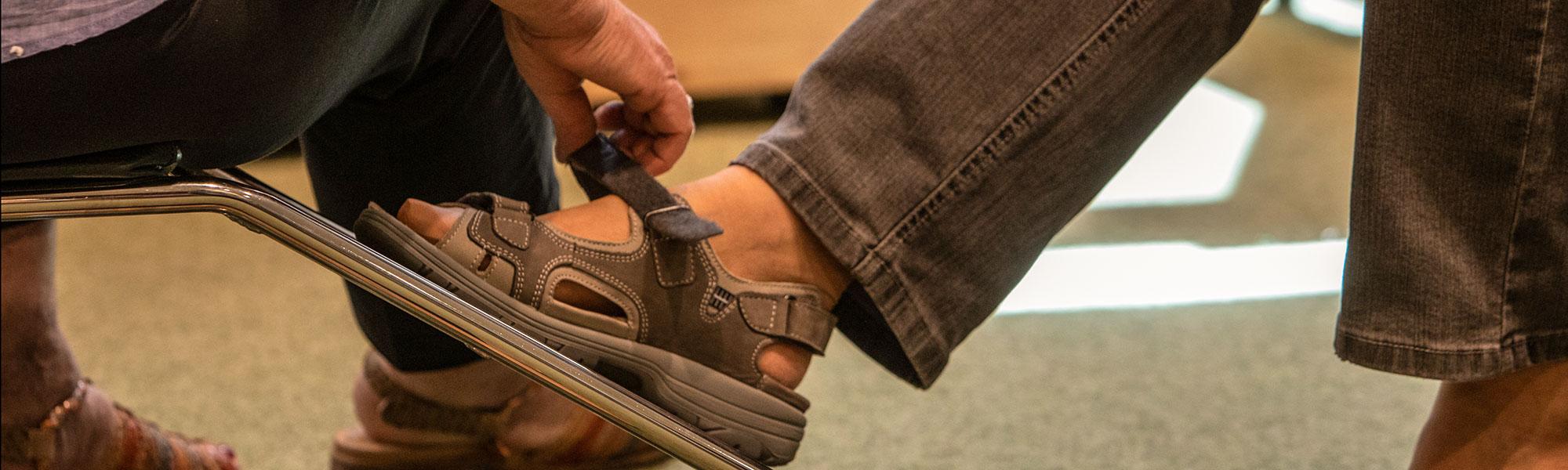 Beratung Schuhkauf