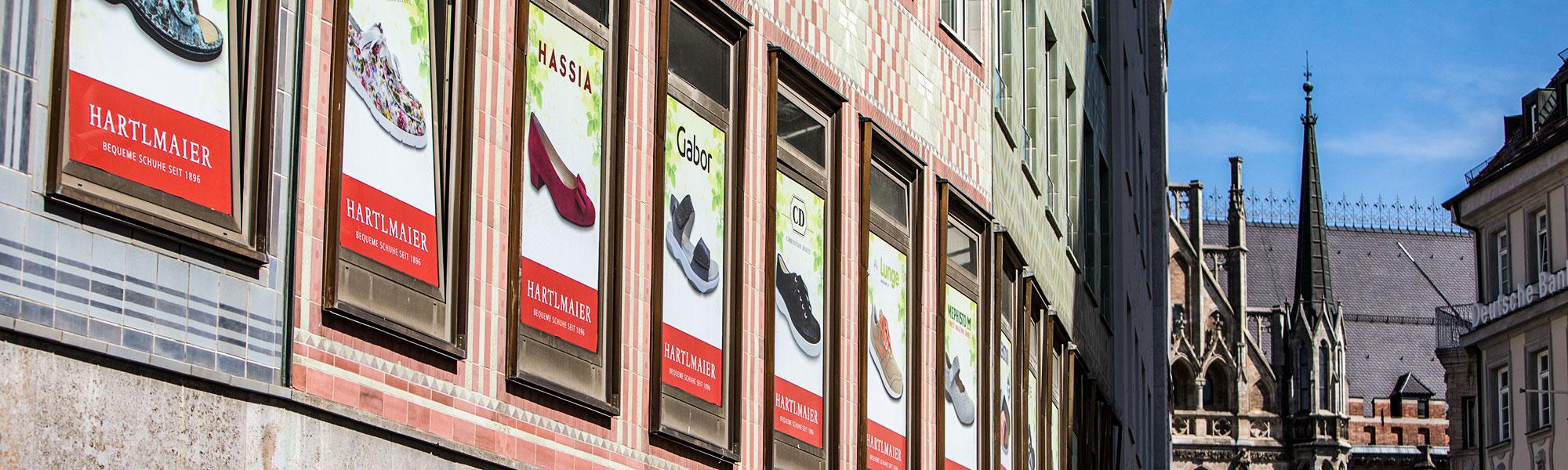 Schuhgeschäft München beim Marienplatz